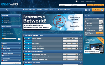 Anteprima di betworld